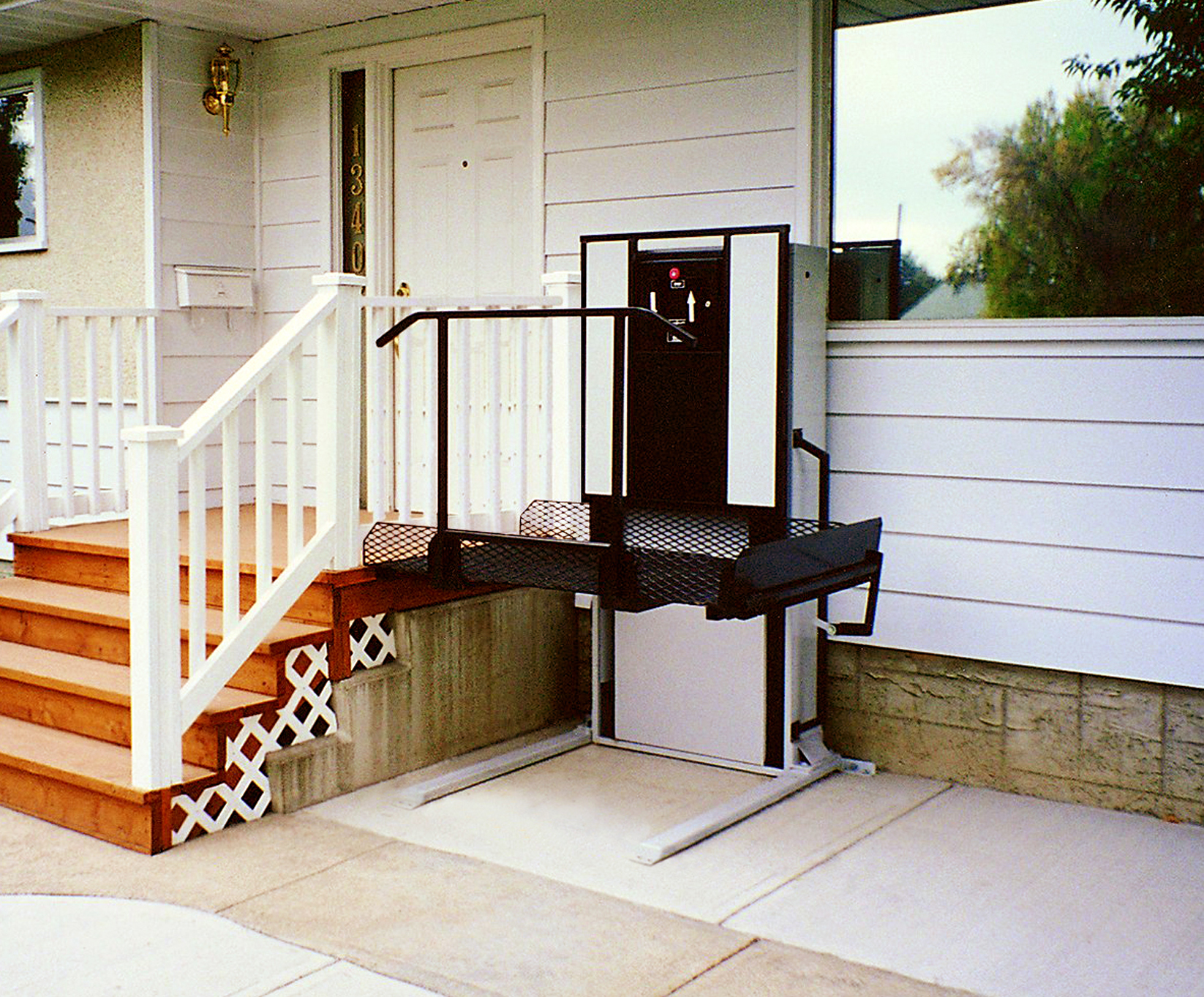 lift modification medical ramp to home porch access independence